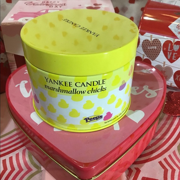Yankee candle limited peeps candle